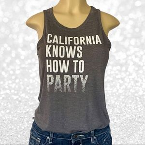 Lyric Nation CALIFORNIA KNOWS HOW TO PARTY Tank